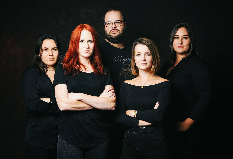 Das Dark Divas Team